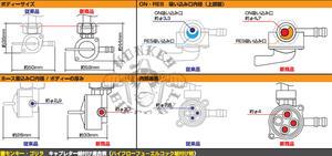 Fuel tap Monkey Takegawa high flow