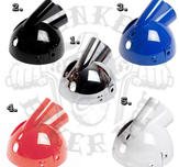 headlight bucket white