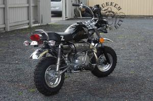 Replica Monkeybike 125cc Black