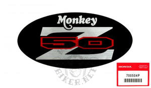 Monkey Z50J6 2005 decal side cover