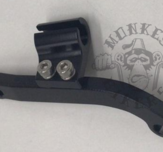 Clutch bracket secondary clutch black