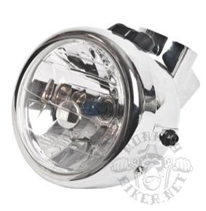 Headlight Monkey Diamond Chrome