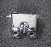 Seat bracket Dax chrome