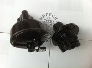 Set of front- and rear hub to Monkey - BLACK