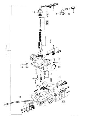 Renoveringskit förgasare ST70