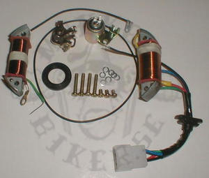 Repair Stator Hitachi 6volt breaker point ignition
