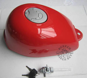 Gas tank Monkey J2 new style red