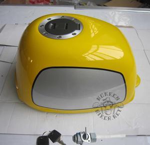 Gas tank Gorilla new style yellow