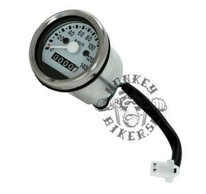 Speedometer Monkey 140kp/h white