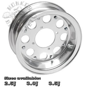 "10"" alloy rim 8hole design"