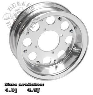 """10"""" aluminumfälg 8håls design"""