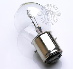 6v BA20D bulb headlight 25W/25W