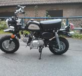 Replica Monkeybike 50cc black