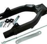 Alloy Swing arm G'Craft-style standard length Black