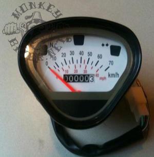 Speedometer Dax 70kp/h White