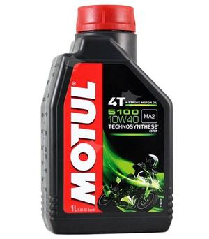 Motul 5100 4t oil semi synthetic