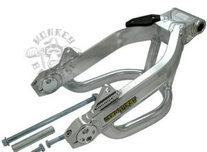 Alloy Swing arm G'Craft-style with brace +6cm