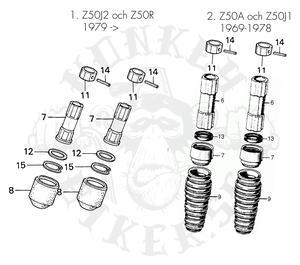Front fork repair kit