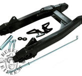 Alloy Black Swing arm G'Craft-style  +4cm