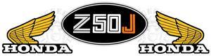 Monkey Z50JZ decal set