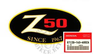 Monkey Z50JS 1995-1998 dekal sidokåpa
