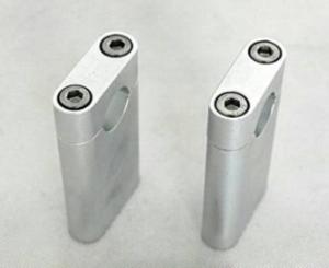 Styrhållare alu silver