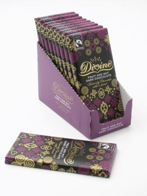 Divine dark chocolate with fruit & nut 100g