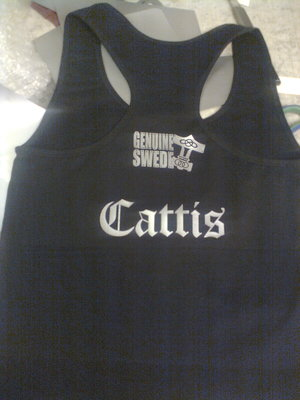 Genuine Swede Damlinne Cattis