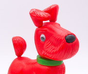 Toy Retro red dog