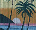 Curtain Sundawn Hawaii bamboo