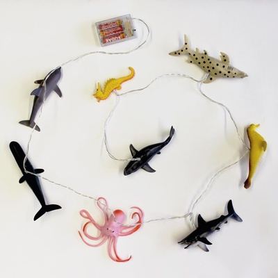 Ljusslinga Havets djur