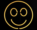 SMILEY neon Lampa