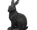 Rabbit black Coinbank