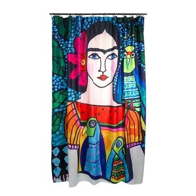 Shower curtain Frida