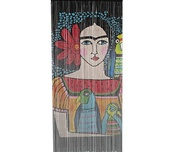 Draperi Frida Illustration, Bambu