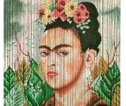 Curtain Frida Kahlo Bamboo
