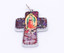 Guadalupe kors 7cm