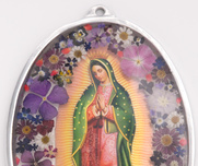 Guadalupe decoration oval 35cm