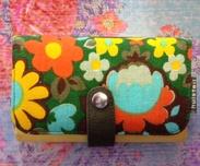 Plånbok M, FlowerY2-recycle