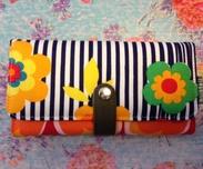 Plånbok L, FlowerSt-recycle