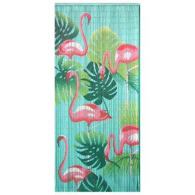 Curtain Flamingo Bamboo