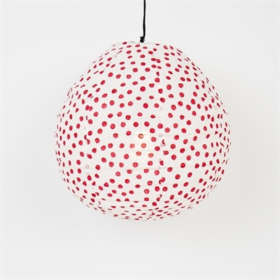 Lampshade Red dot