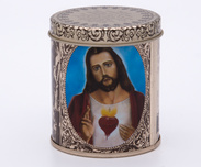 Scented candle Jesus / Maria