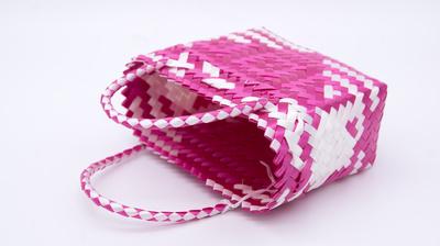 Väska Pink Mexiko 12x20
