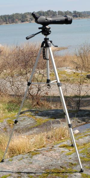 TUBKIKARE SPOTTING SCOPE 20-60x70 MED GOLVSTATIV