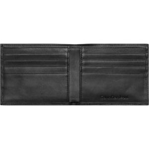 Calvin Klein Clark Slimfold 8cc Wallet Svart