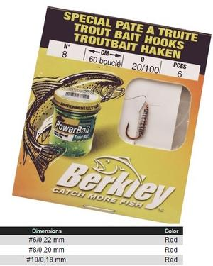 Berkley Trout Bait Krokar
