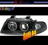 Angel Eyes i  svart för Audi A4 B5 -99