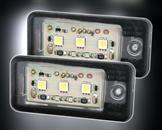 LED Skyltbelysningsset för Audi: A3 8P inkl. Facelift, A3 Cabrio bis Bj. 09, A4 B6, B7 bis Bj. 08, A6 Bj. 05-09, Q7 Bj. 03-09, A8 D3 Bj. 03-07