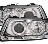 Angel Eyes strålkastare Audi A3 8L 9/00- / Chrome